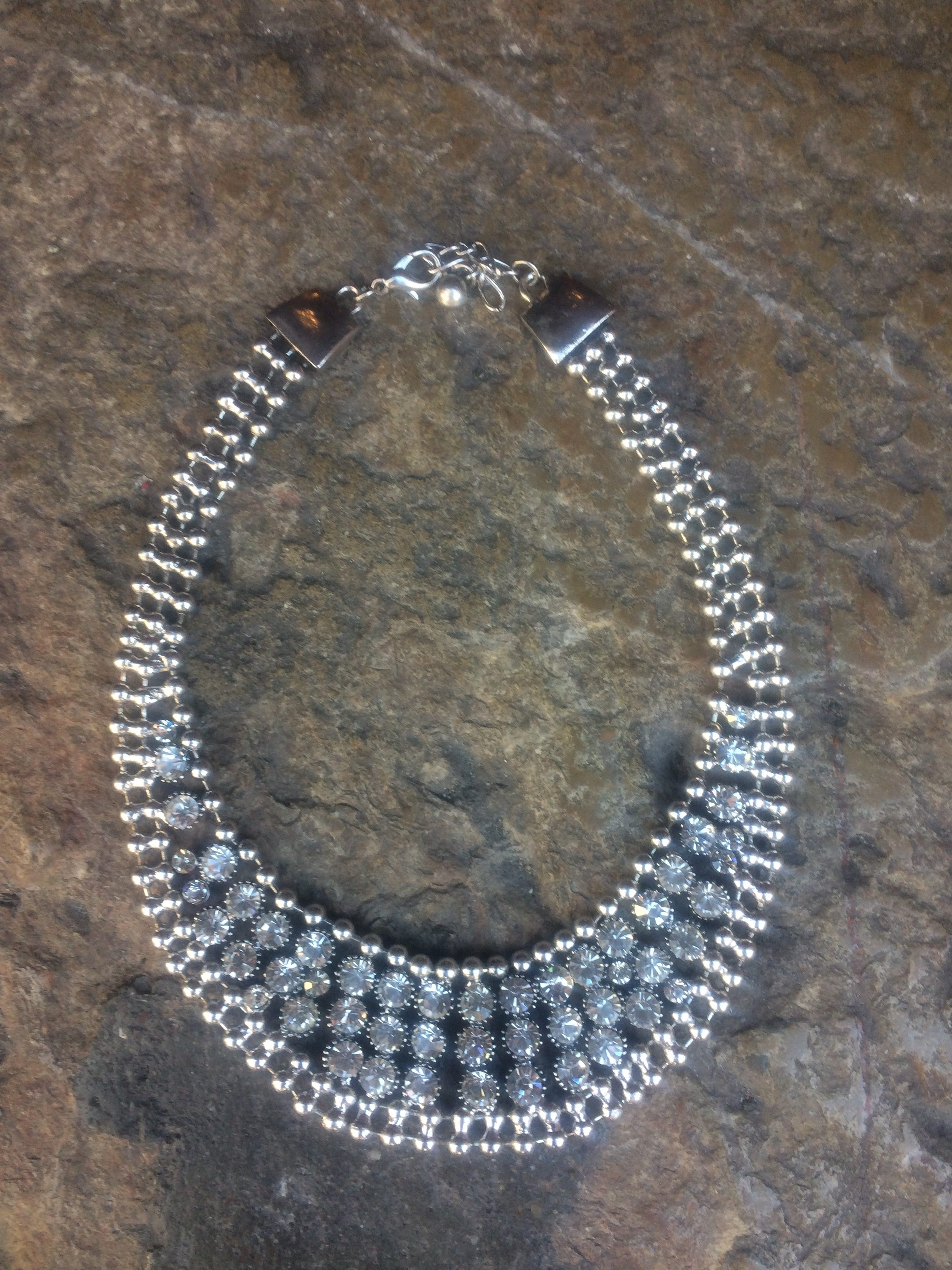 usa cheap sale best sell the best attitude collier plastron strass